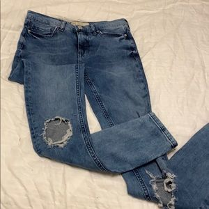 Free people 27 L jeans new with tags